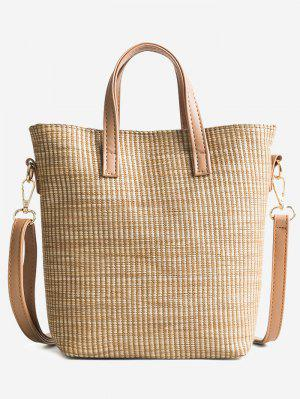 Reise Ferien Freizeit Stroh Einkaufstasche