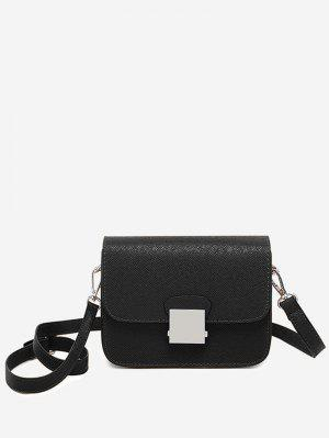 Minimalist Chic Flapped Crossbody Bag
