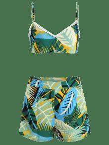 Tropicales Cami Pantalones Fijados S De Multi Cortos 7qxP6