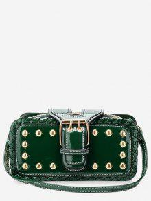 حقيبة كروس بودي حقيبة صغيرة - أخضر أفقي