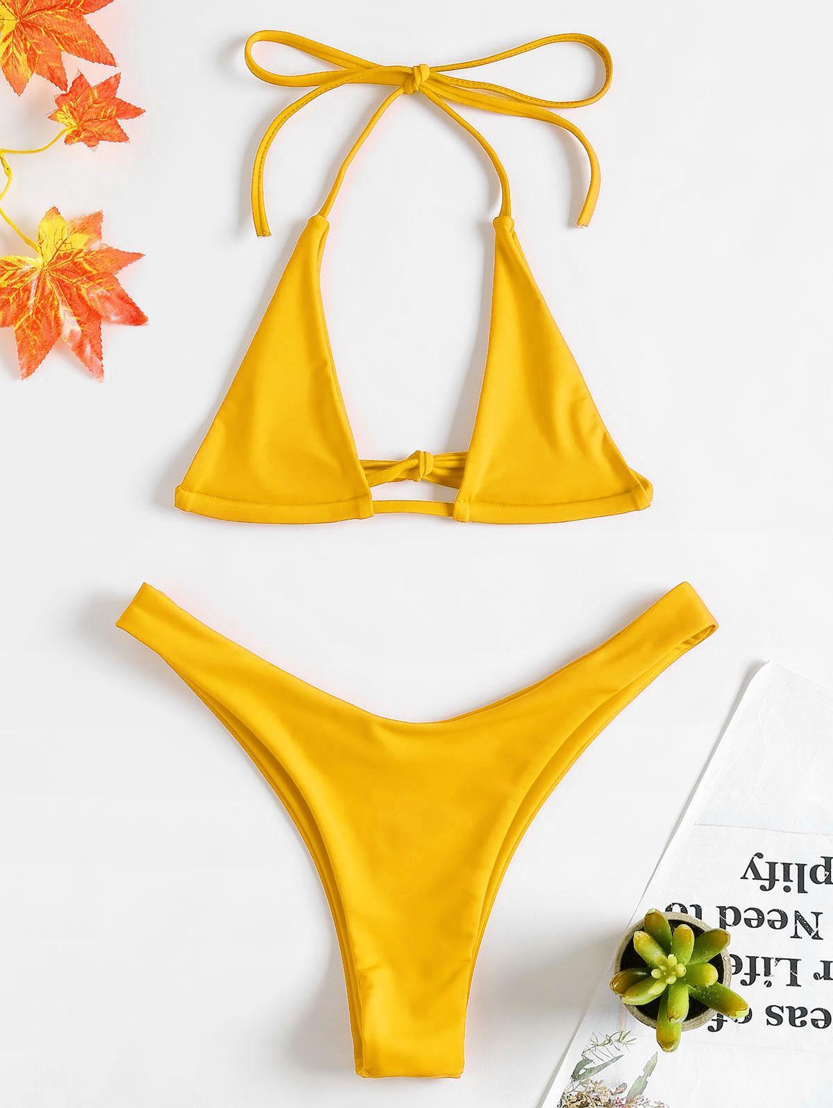 Halter Micro Bikini Se