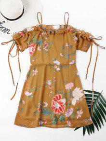 فستان بطبعات ازهار الكامي بطبعات ازهار - الحافلة المدرسية الصفراء M