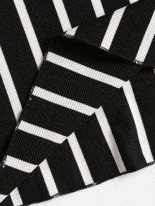 Cruzados Vestido Mini L Hombros Con Descubiertos Negro w06Tr0Iq
