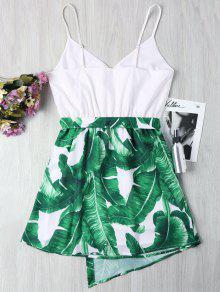 De Cami Palma Hoja S Vestido Verde De zwRTnq51q