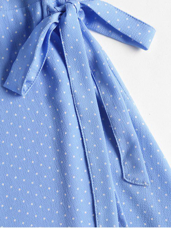 Dress Wrap M Polka Blue Mini Dot Sky qtZcAP1w