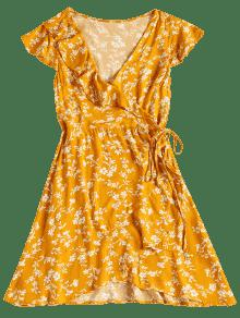 Zaful yellow dress