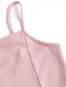 Claro Acampanado Vestido Rosa Cami Mini xZRI1qW