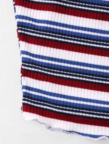 Top Cami Lechuga Stripe Multicolor L 8ERKcOqw