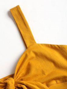 Abeja S De Front Top Bralette Amarilla Tie qYZAzXn