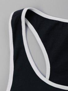 Conjunto Cortos De En Pantalones M Sin Negro Contraste Mangas Z7xZn1rF
