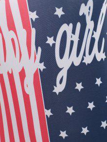 Bandera Patri Body S 243;tico Americana Multicolor La De HBHIw6