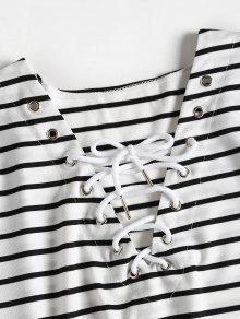 Vestido Rayas Multicolor Lazo En La Con A Xl Camiseta rwAq5rTx