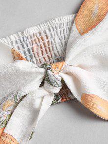 Shorts Blanco Cortos Cami L Paper Conjunto De Pantalones Impresos Top p1w6qFnHn
