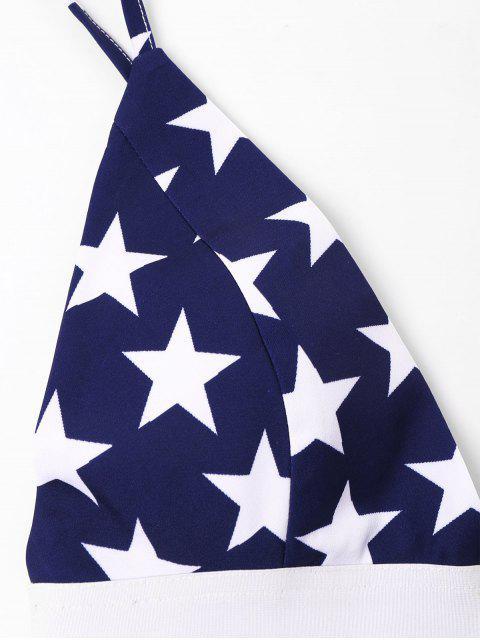 latest American Flag Cami Shorts Set - MULTI XL Mobile