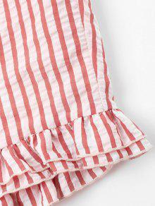 De Casta Conjunto Nudo Rojo Anudado Pantalones o L Cortos De YrwYqvx7t