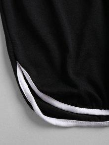 Negro Conjunto Pantal Deportivos Corto Deportivo 243;n S De Shorts Y 88qT1r5w