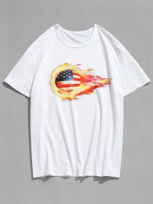 Camiseta Estampada De F