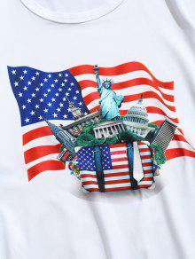 De Camiseta Estampado Con Edificios Emblem xqYYFSgw