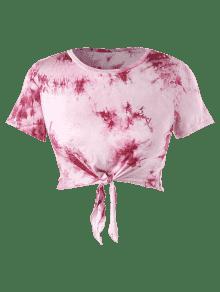 Camiseta De De Tallas Nudo Con Anudado ido 4x Rosa Grandes Te Claro qRxr1qwST