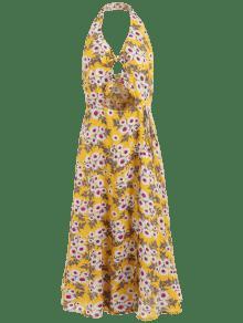 Raja S Oscilaci La Nudo 243;n 243;n De Sin Vestido Respaldo De Marr Dorado Del Floral SXwRaAqx