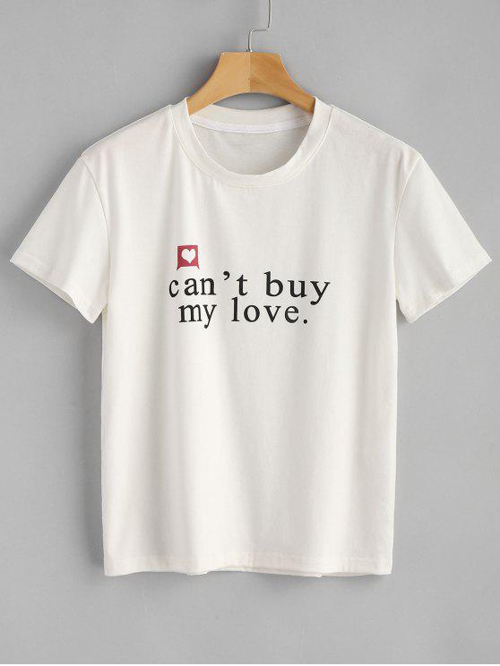 Cant Buy My Love Graphic Tee