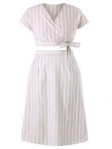 زائد حجم تنورة مجموعة المشارب - اللون البيج 4x