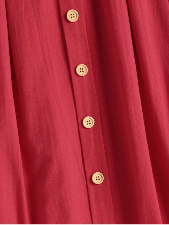 Saint M Nouée Saint Et Froncée valentin Robe Camisole Devant ValentinRouge sdtChQr