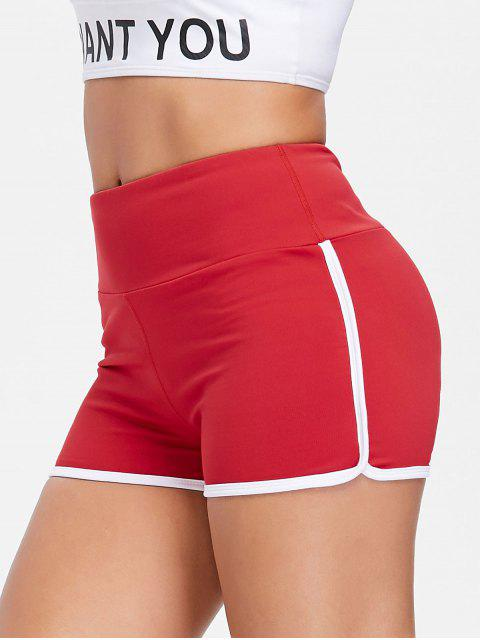 shops Compression Gym Dolphin Shorts - LOVE RED L Mobile