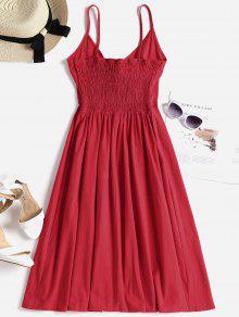 Camisero 237;n Valent Rojo Lazo Con Vestido Anudado De M 7n4ZSCqqw