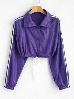 Long Sleeve Sun Protective Jacket - Purple S