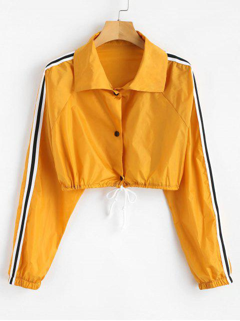 unique Long Sleeve Sun Protective Jacket - BEE YELLOW M Mobile
