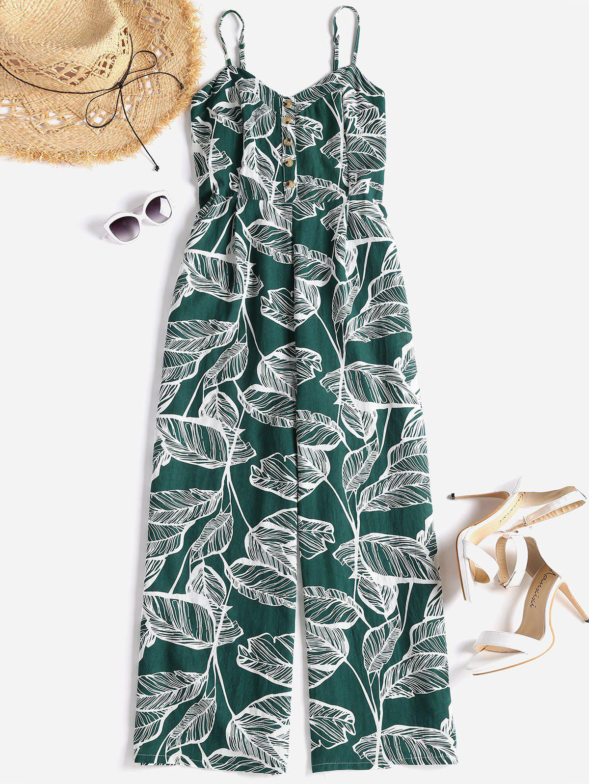Smocked Tropical Wide