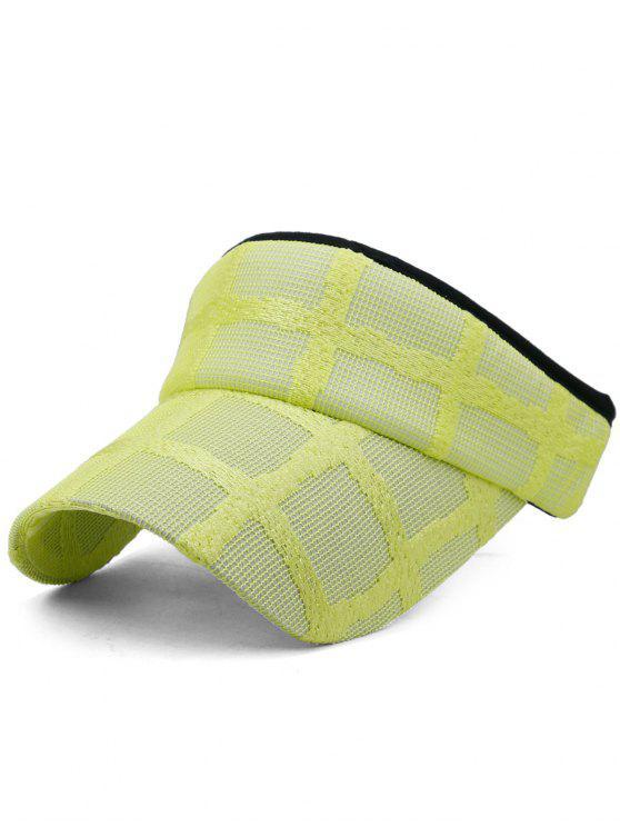 خفيفة الوزن منفتح البيسبول كأب قبعة - الأصفر