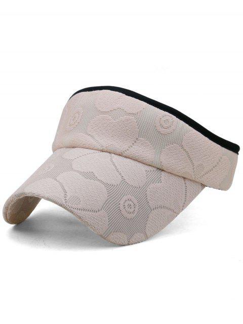 Gorro bordado floral con parte superior abierta - Rosa Claro  Mobile
