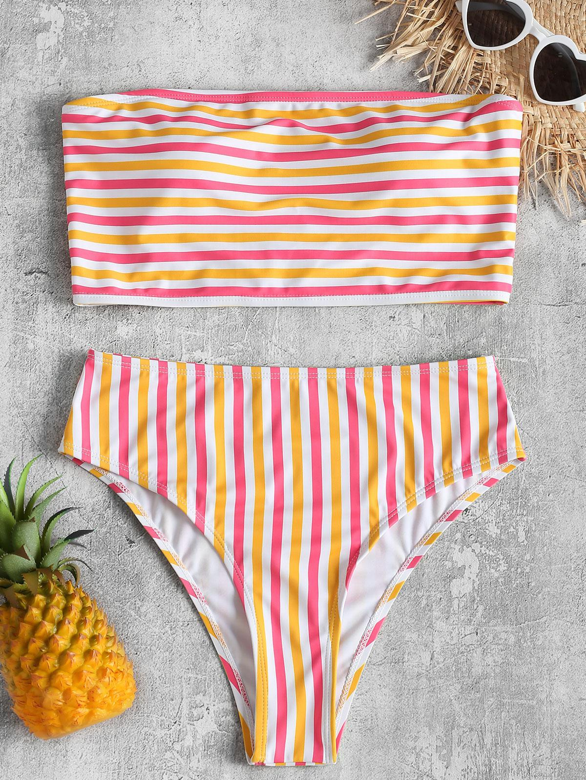 Striped Tube Top with