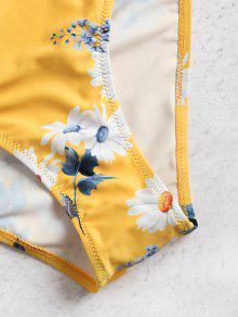 Bandeau 2x De Mostaza Bikini Tipo Con De Estampado Conjunto Daisy ZzHqx4wZ