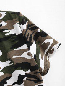 Camuflaje Cut Out S Camouflage Tee Acu qwBfIU