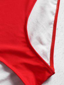 Talle 1x Rojo Lava Y Conjunto De Talle Bikini De Alto Alto wFYOqvx