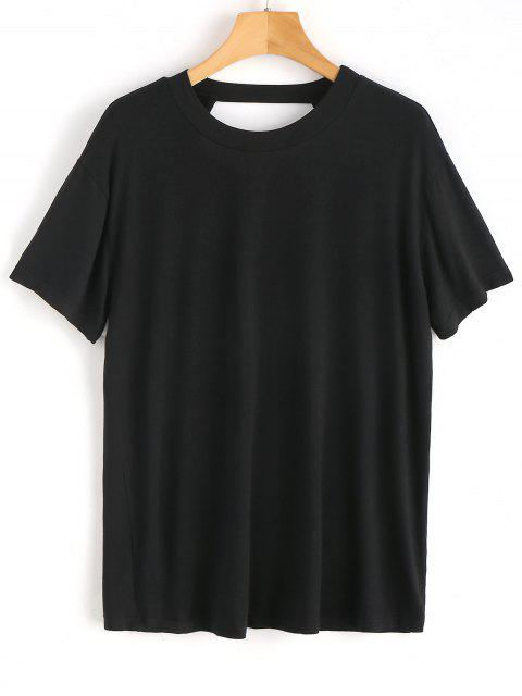 Open Back Plain Top - Negro M Mobile