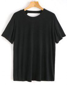 S Open Back Negro Plain Top xaBnPa