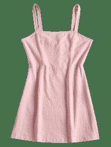 Liso Vestido Claro Mini M Smoked Rosa fTOaxw15q