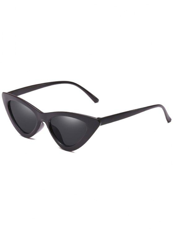 outfits Anti Fatigue Flat Lens Catty Sunglasses - BLACK
