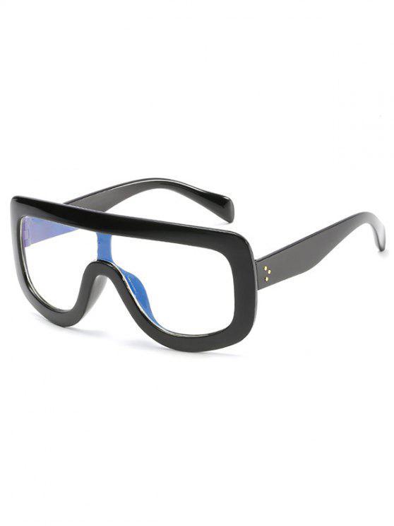 women's Anti Fatigue Oversized Shield Sunglasses - NIGHT