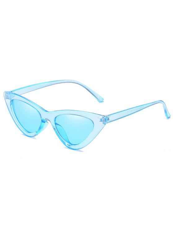 lady Anti Fatigue Flat Lens Catty Sunglasses - DAY SKY BLUE