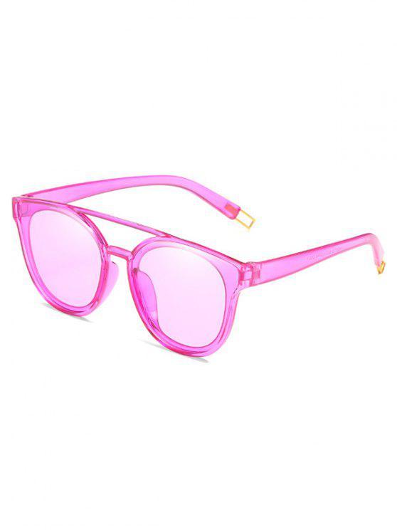 Anti-Ermüdungs-Querbalken-dekorative Sonnenbrille - Mauve