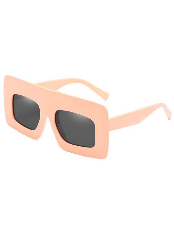 Anti-Ermüdung-breite Rahmen-Sonnenbrille-Sonnenbrille - Sonne Gelb