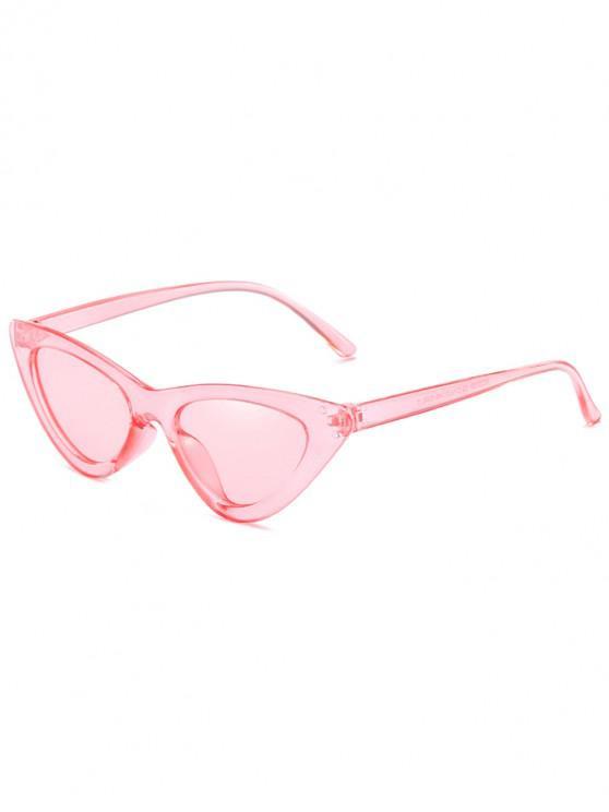 women's Anti Fatigue Flat Lens Catty Sunglasses - PINK