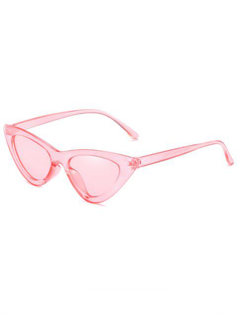 women's Anti Fatigue Flat Lens Catty Sunglasses - PINK  Mobile