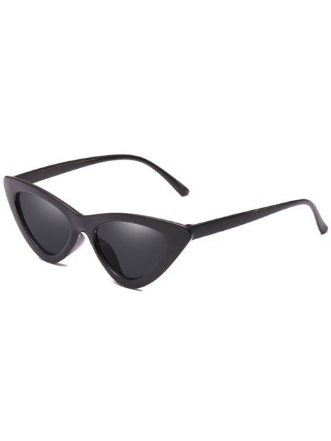 outfits Anti Fatigue Flat Lens Catty Sunglasses - BLACK  Mobile