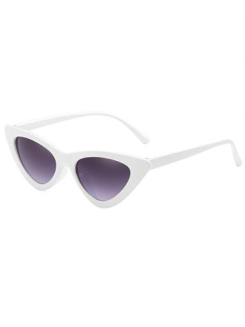 Gafas de sol Catty de la lente plana anti fatiga - Leche Blanca  Mobile